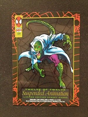 Lizard Marvel Card