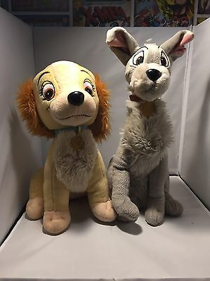 Disney Lady And The Tramp Plush Soft Toy