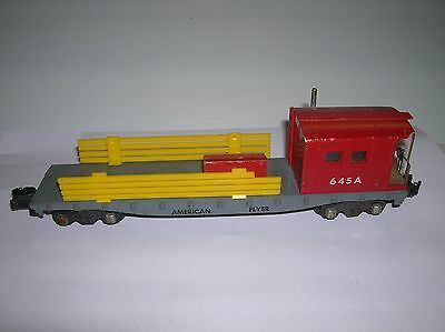 American Flyer # 645A Work Caboose  , converted , lot # 10335