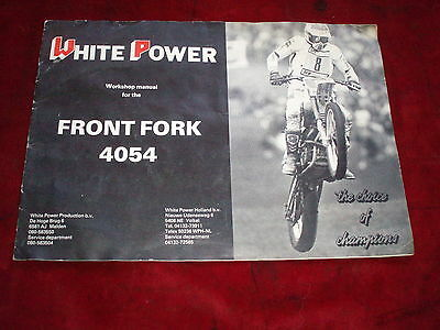 ATK CCM Husqvarna Suzuki Honda Yamaha white power workshop manual 4054