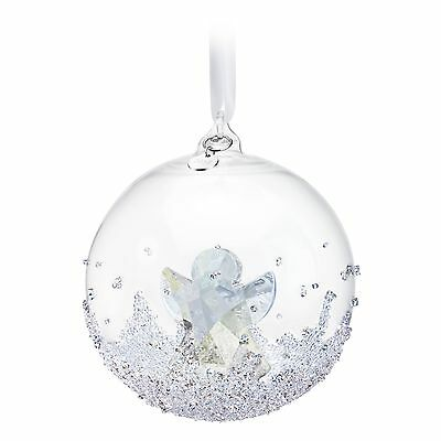 Swarovski Christmas Ball Ornament 2015 Mib #5135821