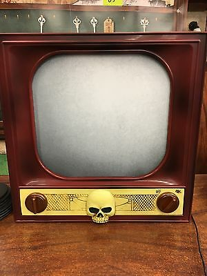 "14.5"" Terror TV Halloween Prop Animatronics Ghost Haunted NIB VHTF Sold Out"