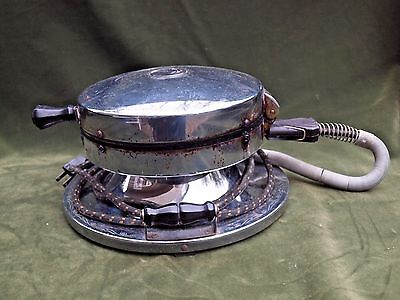 Antique Vintage Knapp - Monarch Therm-A-Hot Electric Waffle Iron