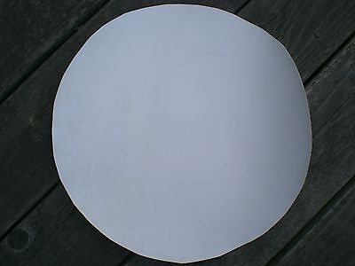 "Calf Skin Banjo Head, 10"", 12"",  15"" or 16"" WHITE unmounted, Hvy., Med., or Thin"