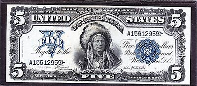 US 1899 $5 Chief Silver Certificate FR 271 VF-XF (959)