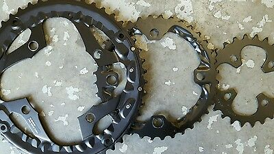 Shimano DEORE Chainrings 10 Speed (26+36+48t) Mountain Bike (SET OF 3) NEW