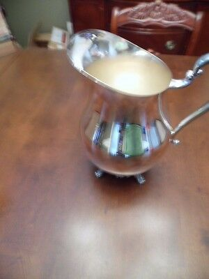1883 F.B. ROGERS SILVER Co. SILVERPLATE WATER PITCHER