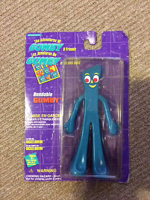 1995 Trendmasters Gumby , new in Package 5 1/2 inches tall