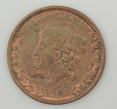 """1841 Hard Times Token """"Millions For Defence"""" *Z39"""