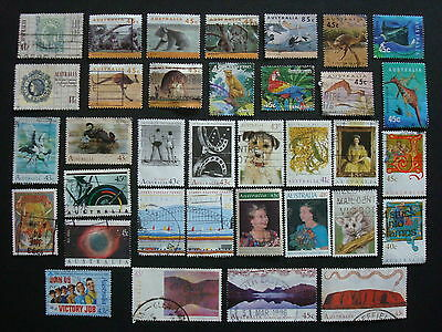1990-1994 - 35 x Used Australian Sheet Stamps  - #6