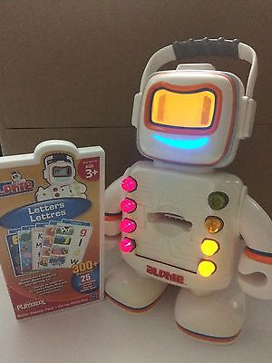 Playskool - Alphie Robot - With Booster Pack Cards