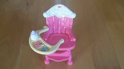 FISHER PRICE SNAP n STYLE SWING ARM TRAY HIGH CHAIR
