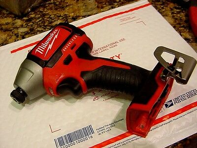 "Milwaukee 2750-20 M18 Brushless 1/4"" Hex Impact Driver BARE TOOL ONLY!!!"
