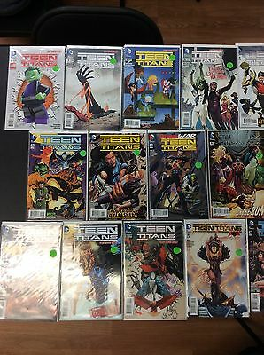 Lot Of Teen Titans New 52 2014 Series DC Comics Issues 20 TOTAL