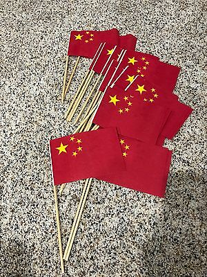 Small China Flags - 20 - Great For Decor, Party, Event