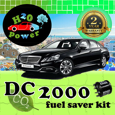 DC2000 HHO DRY CELL HYDROGEN GENERATOR KIT FOR VEHICLES FROM 1400cc TO 2400cc