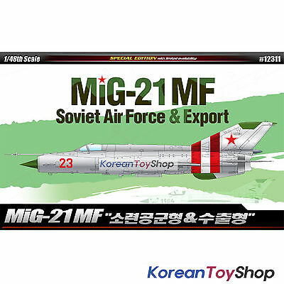 Academy 12311 1/48 Plastic Model Kit MiG-21 MF Soviet Air Force & Export / Korea