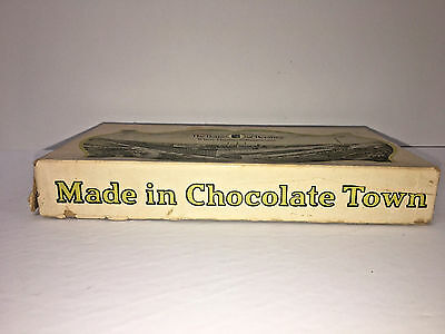 Vntg The House of Hershey Made in Chocolate Town Candy Bar Box 24 cakes 5 cents