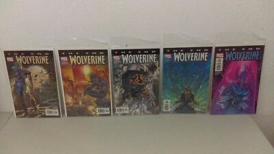 Wolverine The End #1 to #5 Set Lot Marvel Comics NM Boarded & Bagged