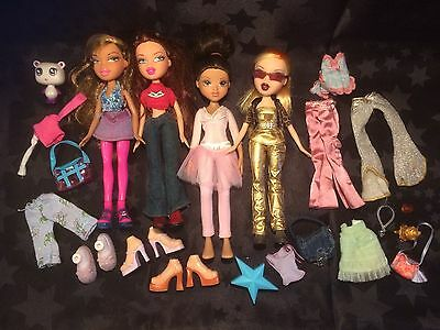 Bratz Doll Bundle With Clothes, Shoes And Accessories