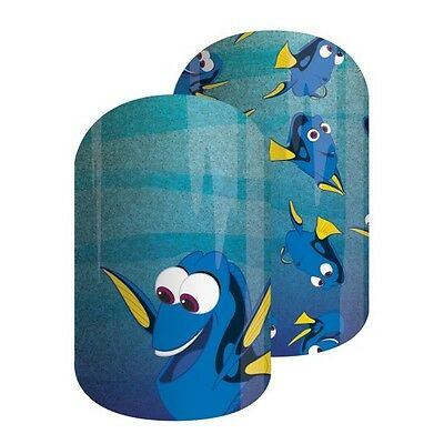 Jamberry Just Keep Swimming Disney nail wraps - Finding Dory