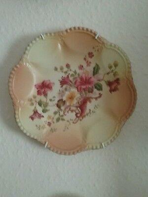 """Blush plate floral detail 9""""approx"""
