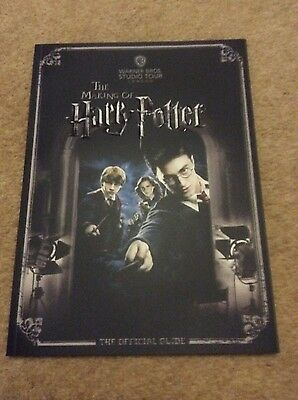 The Making Of Harry Potter Warner Bros. Studio Tour Official Guide Book