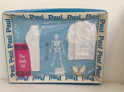 Rare, vintage Empire Pedigree Sindy Paul Medical Student outfit. New and boxed