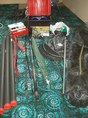 Fishing Tackle - Pole, Whip, Rods, Reels Etc Approx 100 Items