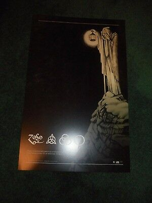 Led Zeppelin - Zoso/houses Of The Holy Re-Issue - Original Ds Promo Poster