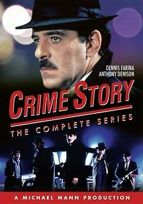 Crime Story: the Complete Series - DVD Region 1 Free Shipping!
