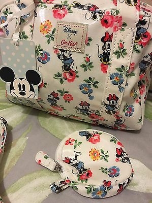 Bnwt CATH Kidston Mickey Mouse Disney X Box Bag & Matching Purse