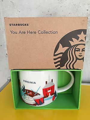 Starbucks * VIRGINIA * City Mug YOU ARE HERE SERIE XL Tasse NEU