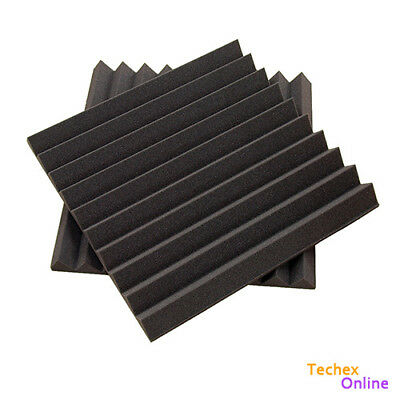 New 2x Sound Stop Acoustic Absorption Treatment Proofing Foam Square 50 x 50cm