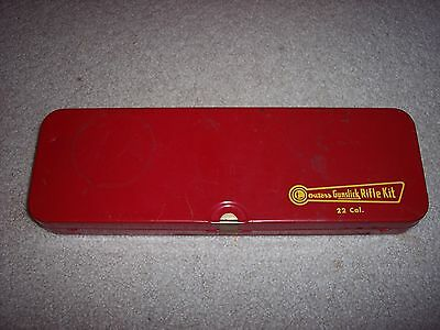 """Outers Gunslick 22 Cal Rifle Kit No 477 """"Empty Tin Only"""" clean rimfire vintage"""