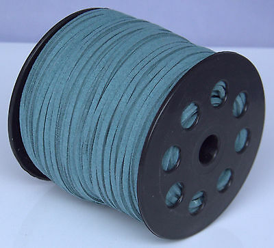 10ya 3mm Suede Leather String Jewelry Making Thread Cords hot new