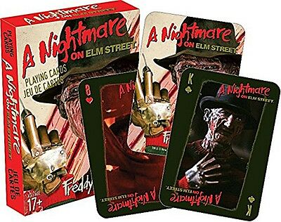 A Nightmare On Elm Street set of  playing cards (nm)