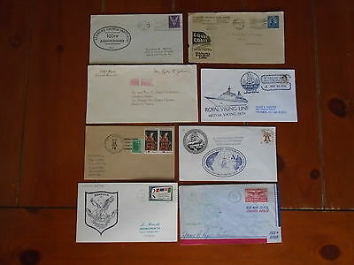 Lot Of 8 X Various United States Of America Envelope Covers-F/u