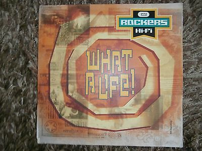 "Rockers HiFi, What A Life, 12 BRW 309, 12"" Vinyl Record."