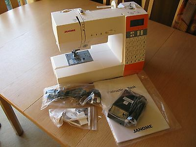 New and Unused Janome DKS30 Sewing Machine With Quilting Accessory Kit