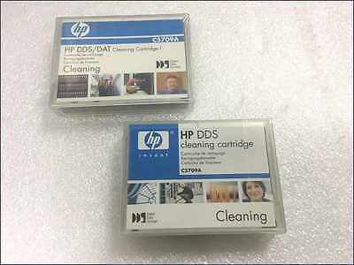 2 x NEW HP DDS / DAT Cleaning Tape Cartridge C5709A