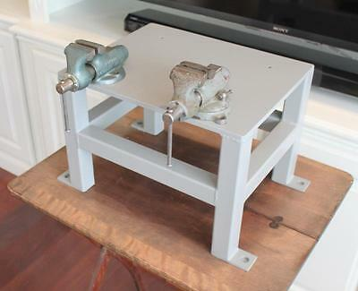 Precision Made Table Stand for Wilton Bench Vise 34 lbs. Baby Wilton Swivel