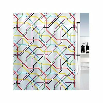 Spirella Metro Quality Shower Curtain, 180cm wide x 200 cm High FREE UK POSTAGE