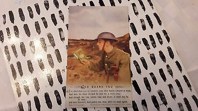 "WW1 Bamforth Songcard Postcards ""God Guard You"". NO 3 see pictures"