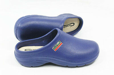 Town & Country Garden Clogs Cloggies Lightweight Navy or Green Slip-on Shoes