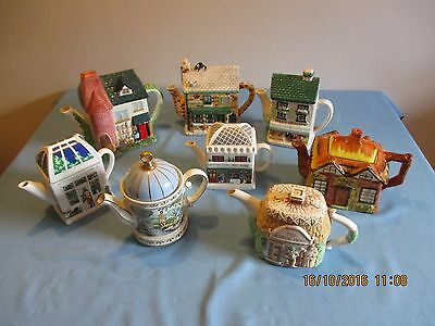 Collection Of 8 Novelty Tea Pots