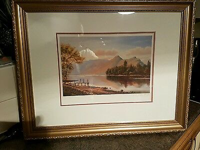 Peter mckay Ltd edition #399 of 500  authentic hand signed framed print
