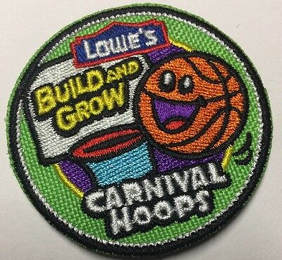 PATCH Carnival Hoops Iron On Patch LOWES Build Grow Kids Clinic