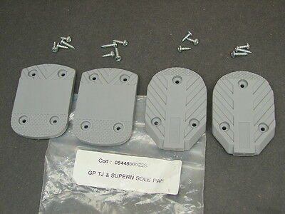 Vtg New NOS Nordica TJ & Super N Ski Boot Grip Plates Heel Toe Plates Sole Kit