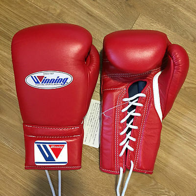 WINNING MS-500 14oz Red - Professional Sparring/Training Gloves - Grants Reyes
